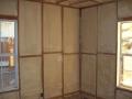 Foam wall insulation